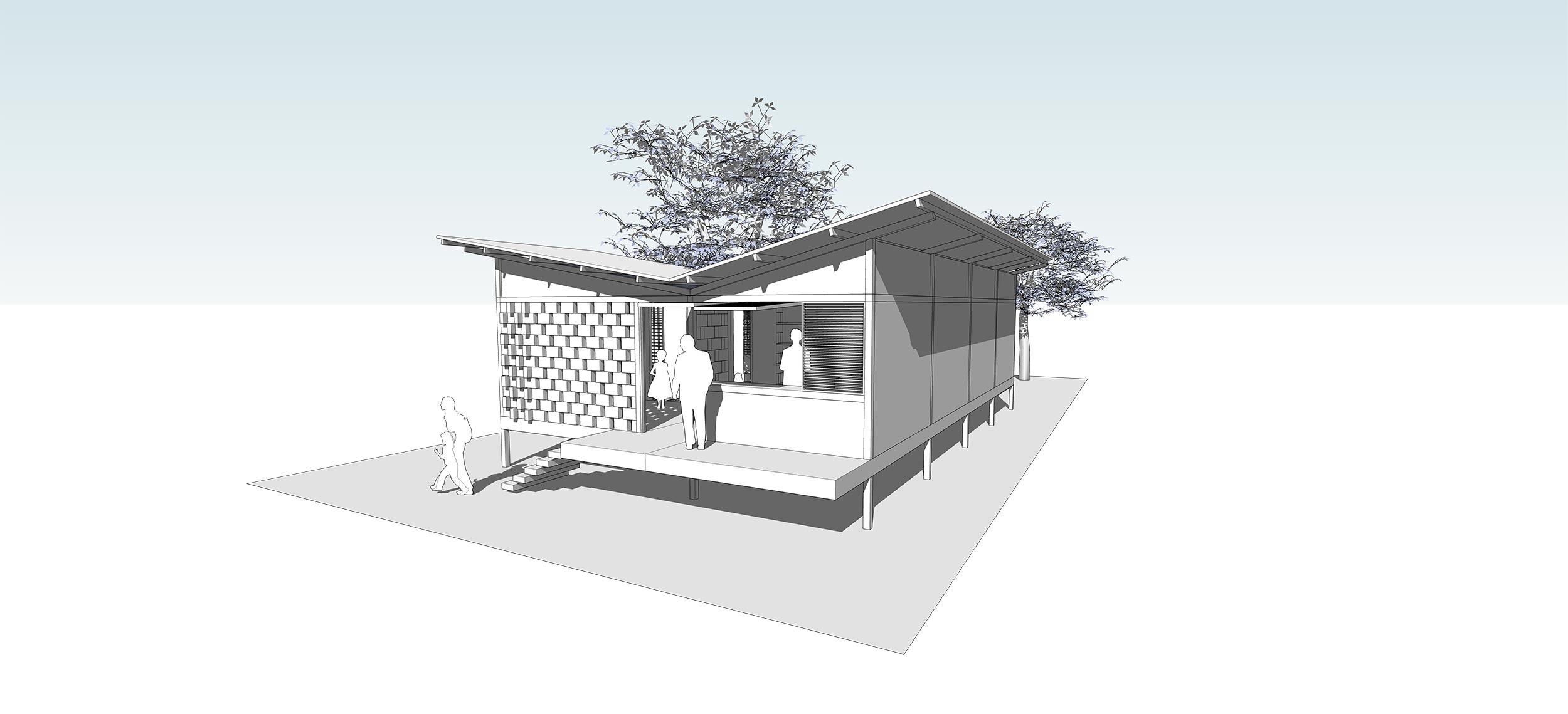 Vivienda de Emergencia - Arquitecnica : Arquitecnica